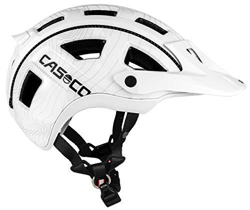 Casco Fahrradhelm 1307, Unisex Erwachsene L weiß