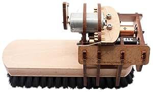 YouMake Putzroboter Bausatz / Lernspielzeug - Made in Germany! - Mit Batterien und Montagewerkzeug!