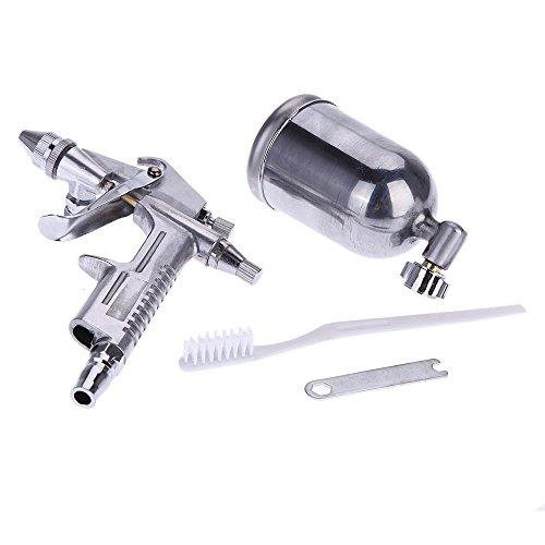 KKmoon Kit aerografo pistola a spruzzo spruzzatore gravità Airbrush Set lega di alluminio vernice pittura Strumento
