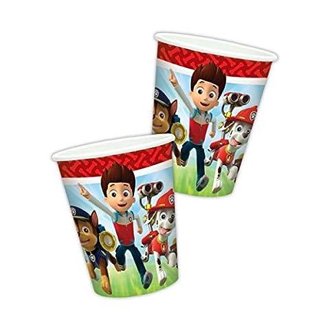 Amscan Nickelodeon Glasses of festive paper Paw Patrol 8 pcs