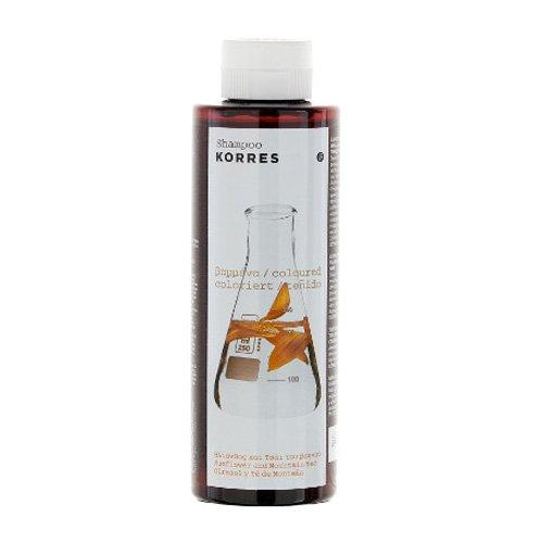 Korres Sunflower & Mountain Tea Shampoo 250 ml Shampoo für gefärbtes Haar