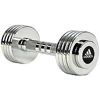 Adidas ADWT-10026 5 kg Dumbbell Set, Silver