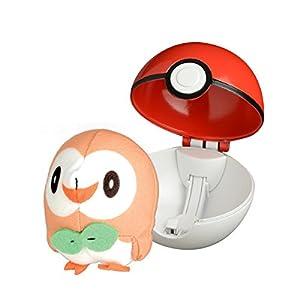 Bandai - Pokémon - Lanzador Poké Ball y su Peluche Brinbidou - 81238