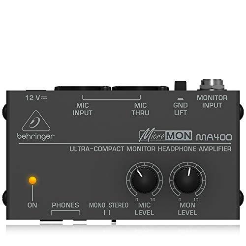 Behringer Micromon MA400, Monitor Amplificatore per Cuffie