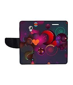 KolorEdge Printed Flip Cover For Lenovo P1 Multicolor - (1479-55KeMLogo11079LenovoP1)