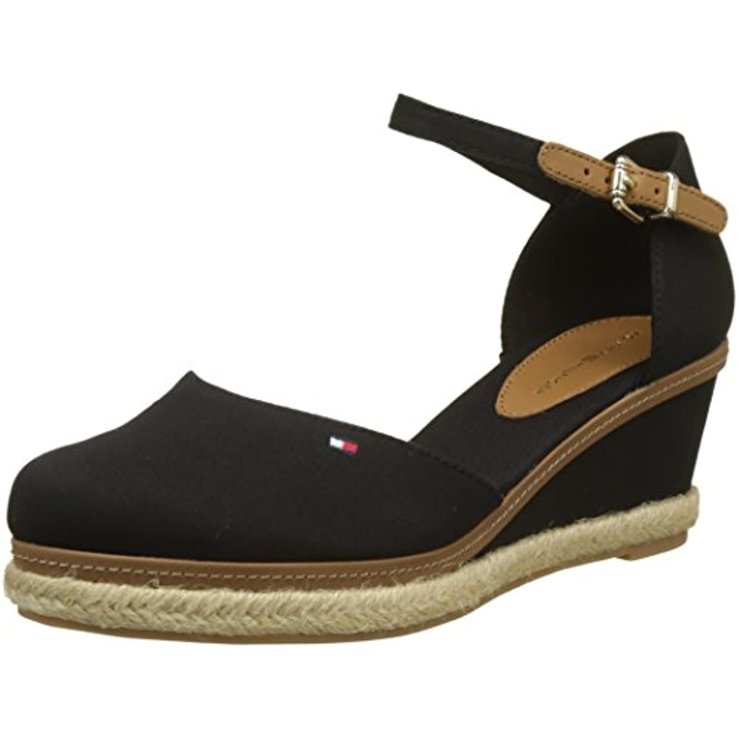 Tommy Hilfiger Toe, Iconic Elba Basic Closed Toe, Hilfiger Espadrillas Donna  Parent b83058