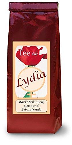 Lydia-Namenstee-Frchtetee
