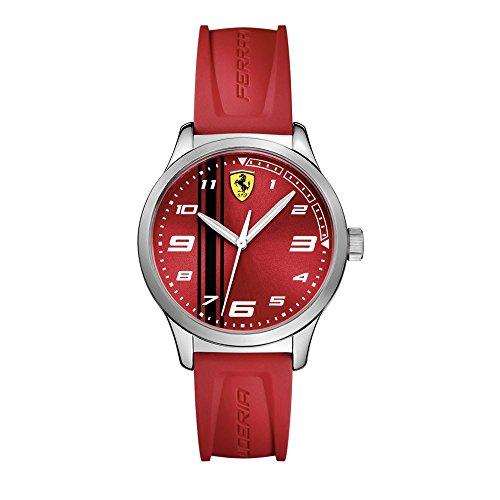 Scuderia Ferrari - Orologio donna in acciaio e silicone SCUDERIA FERRARI FER0810014
