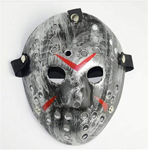 muck Dekorative Verzierung Romantische Dekoration  Party Masken Jason Voorhees Scary Prop Hockey Halloween Cosplay Gruselige Maske Freitag 13. Schön ()