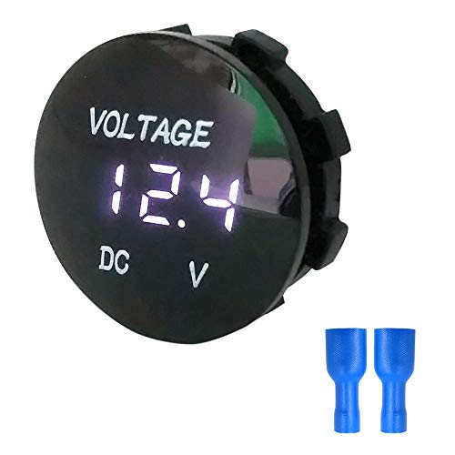 TianranRT DC 12V-24V LED Panel Digital Spannung Volt Meter Display Voltmeter Motorrad Auto -