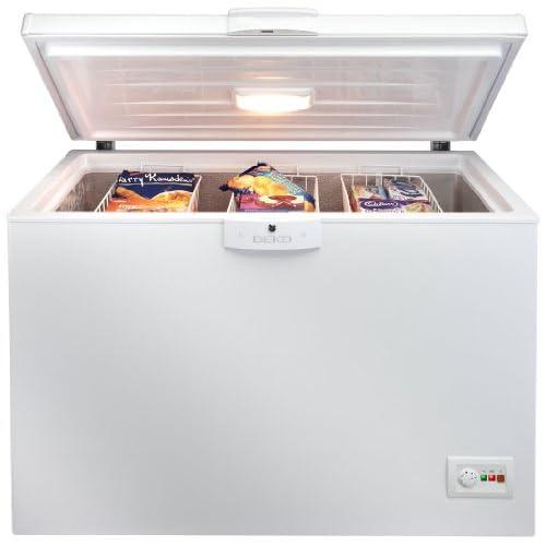 417nG1C18xL. SS500  - Beko CF1300APW Freestanding Chest Freezer -White