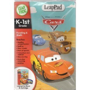 LeapPad Learning System K-1st Grade, Reading & Math Interactive Cartridge and Book (Leap Frog) (System Learning Leapfrog)