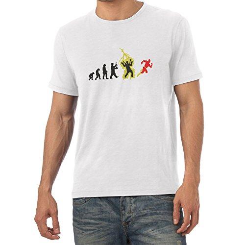 Texlab Speedster Evolution - Herren T-Shirt, Größe XXL, Weiß