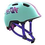 Scott Chomp 2 Fahrrad Kinder Helm Einheitsgröße 46-52cm blau 2018