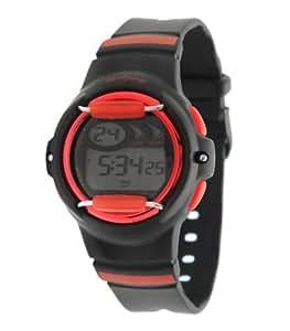 Performer - 70612452 - Montre Garçon - Quartz Digital - Cadran LCD - Bracelet Plastique Noir