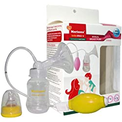 Baby Dreams Manual Breast Pump (Pink/Yellow/Green)