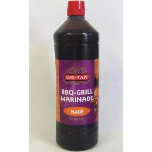 GoTan Asia-Sauce BBQ-Grill-Marinade 1000ml (Saté-Marinade)
