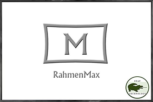 RahmenMax Kunststoff-Bilderrahmen Texas 75 x 100 cm, Schwarz mit 1mm Acrylglas Klar. Viele Größen mit Paketpreisen. Jetzt: 1 Stk. - Stückpreis: 22,30 EUR. (Große Kunststoff-bilderrahmen)