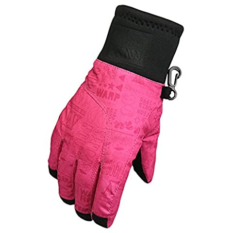 YF-36 Kids 3M Thinsulate Waterproof Outdoors Ski Gloves For Winter Size S