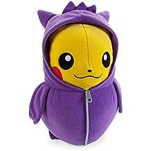 Pokemon Pikachu in Gengar Sleeping Bag 10 inch Nebukuro Collection Juguete De Peluche