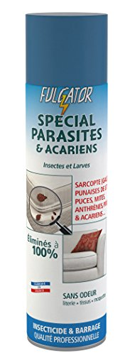 Fulgator - Anti Parasitaire - Spécial Parasites - Actif 4 Mois Sans Odeur - 400 ml (x1)