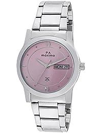 Maxima Attivo Day-Date Pink Dial Women -38303CMLI