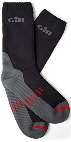Gill Thermal (Gill Waterproof Socks Graphite - Unisex - Easy Stretch Thermal Lining Wasserdicht - Thermal Warm Heat Layer-Schichten)