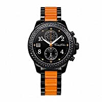 Thomas Sabo WA0130-240-203-38 mm - Reloj de pulsera para mujer, negro / plata de Thomas Sabo
