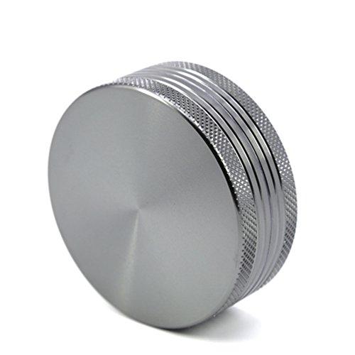"""TANKASE Premium Aluminio Herb Grinder Molinillo Triturador de Especias y Hierba con Rascador Polen 4 Capas 2.2\"""""""