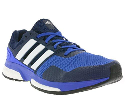 adidas Uomo Response 2 scarpe sportive blu / nero / bianco
