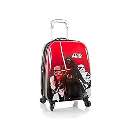 heys-star-wars-tween-brand-new-gorgeous-designed-exclusive-red-expandable-spinner-hard-side-luggage-