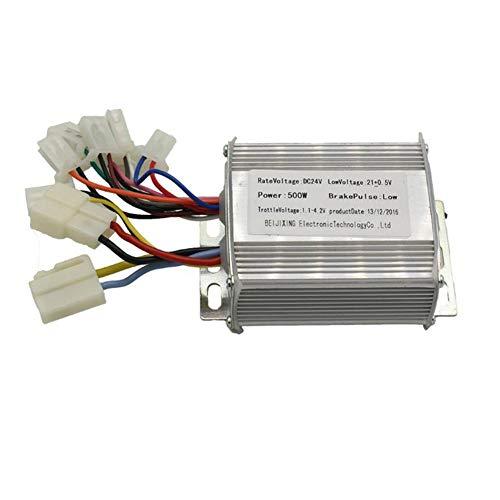 Ridecle 24 V 500 Watt Pinsel Controller Geschwindigkeit Elektromotor Controller für Elektrische Fahrrad Roller Dreirad Fahrzeug -