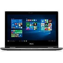 """Dell I5368-6452GRY 13.3"""" FHD 2-in-1 Laptop (Intel Core I5-6200U 2.3GHz Processor, 8 GB RAM, 1 TB HDD, Windows 10) Gray"""