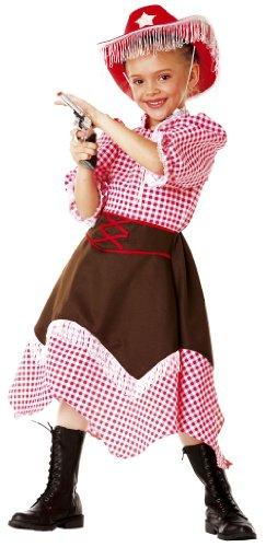 Kostüm Mädchen Cowboy - Cesar B390-001 - Cowgirl Kitty Größe 104 (Größeninformation auf Verpackung: 3/5 years, T 1, 104 cm)