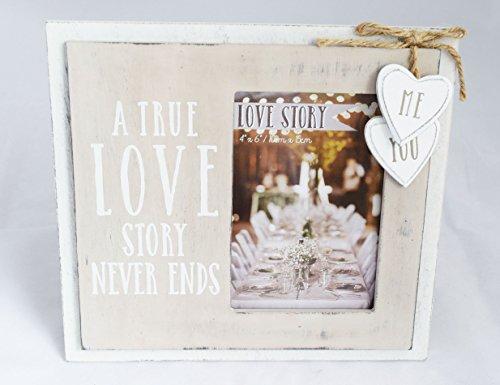 Und Herr Album Foto Frau (Me und Sie Hochzeit Foto Bilderrahmen True Love Paare Shabby Chic Geschenk, 10,2x 15,2cm)
