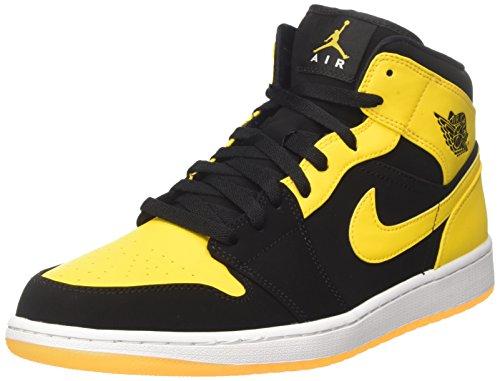 nike-air-jordan-1-mid-scarpe-da-basket-uomo-nero-black-varsity-maize-white-42-eu