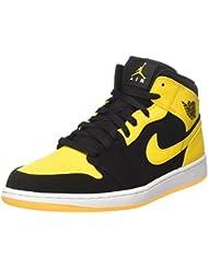best loved 8d265 0613a Nike Air Jordan 1 Mid, Chaussures de Basketball Homme
