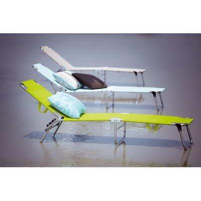 Jan Kurtz Fiam Amigo Chaise longue trois pieds en aluminium Bleu foncé
