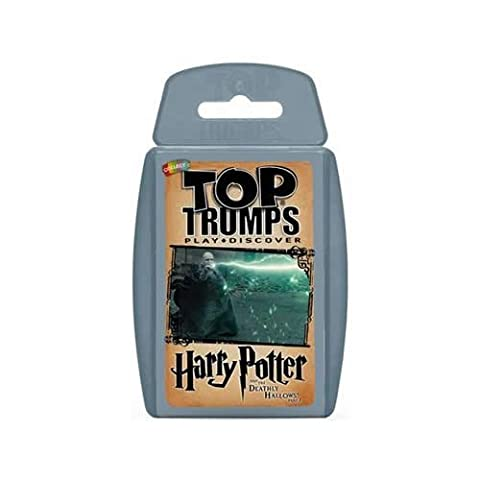 Harry Potter and The Deathly Hallows Part 2 Top Trumps Card Game