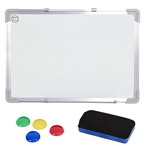sungler-drywipe-magnetic-whiteboard-with-aluminum-frame-pen-tray-40-x-60-cm