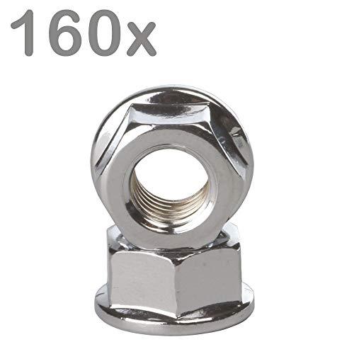 akhan er054/Tube d/échappement End acier inox Embout d/échappement universel 160/x 76/mm D = 35 62/mm