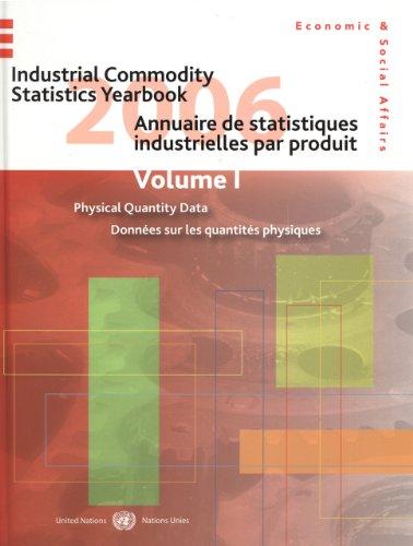 Industrial Commodity Statistics Yearbook 2006/Annuaire de Statistiques Industrielles par Produit 2006: Production Statistics (1997-2006)/Statistiques De Production (1997-2006)