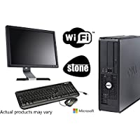 "Dell Dual Core PC Bundle with Microsoft Windows 10 and WIFI - 17"" Monitor - Keyboard and Mouse"