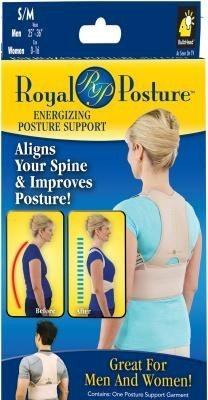 Royal Posture by BulbHead (L/XL) - The Amazing Back Support Belt that Aligns Your Spine, Posture Corrector Brace by Royal Posture