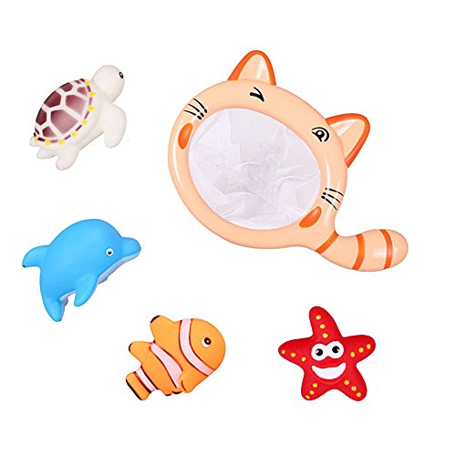 Himki Babyspielzeug Badewannenspielzeug Ocean Spray Badespielzeug für Babys (Katze)