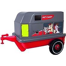 BIG 800056261 accesorio para juguete de montarse - accesorios para juguetes de montarse (Toy car trailer, Bobby-Car, Gris, Rojo)