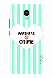 Noise Partners In Crime Lines Printed Cover for Meizu Metal
