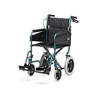 Days Escape Lite Aluminium Wheelchair, Racing Green - Standard