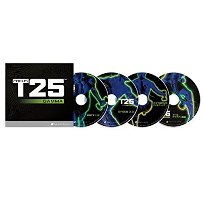 Shaun T's FOCUS T25 GAMMA Phase DVD Workout by Beachbody