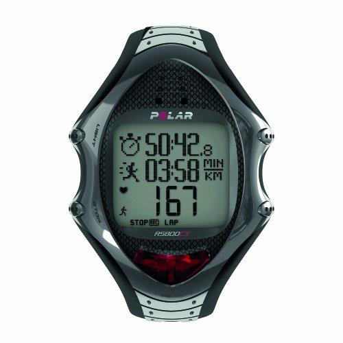 Pack Polar RS800CX GPS (incluye G3) - Reloj para triatlón con pulsómetro, sumergible, con GPS
